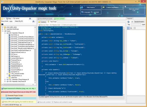 DevXUnity-Unpacker Magic Tools -www.savagemessiahzine.com