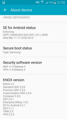 Samsung Galaxy S4 SGH-I337, SGH-I337M, SGH-M919, SGH-M919v